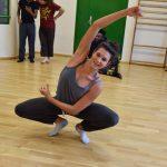 EMAJINARIUM Free Spirit spectacle vivant costumé et dansant body painting paris Fraise au Loup theatre danse répétition de danse paris