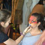 EMAJINARIUM Free Spirit spectacle vivant costumé et dansant body painting paris Fraise au Loup theatre danse