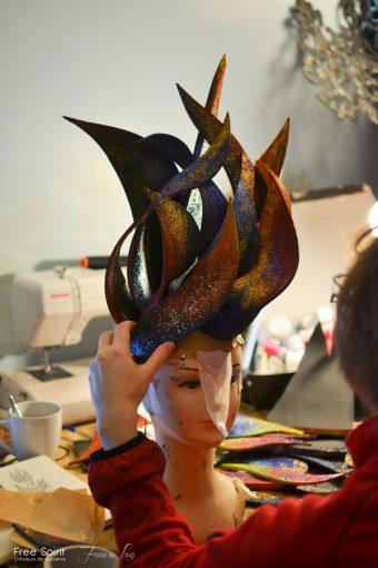 Fraise au Loup headpiece