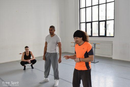 Free Spirit Emajinarium cirque circassien compagnie spectacle vivant theatre spectacle de rue acrobaties parkour