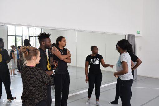 EMAJINARIUM répétitions de danse shooting photo spectres