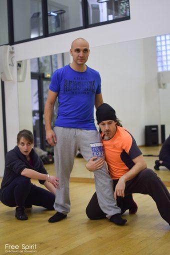 EMAJINARIUM Free Spirit spectacle de danse salle de répétition à Paris costumes danseurs