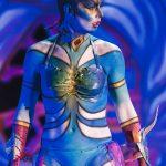 EMAJINARIUM Free Spirit Spectacle vivant costumé et dansant live show combining art performance theatre dance paris theatre de la madeleine