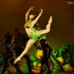 EMAJINARIUM Free Spirit Spectacle vivant costumé et dansant live show combining art performance theatre dance paris theatre de la madeleine danseuse pointe