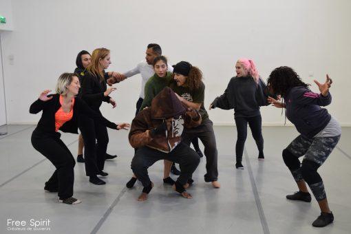 EMAJINARIUM spectacle live show répétitions danse salle Paris