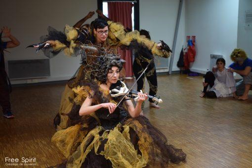 EMAJINARIUM Free Spirit répétition générale spectace filage théâtre de la Madeleine Paris